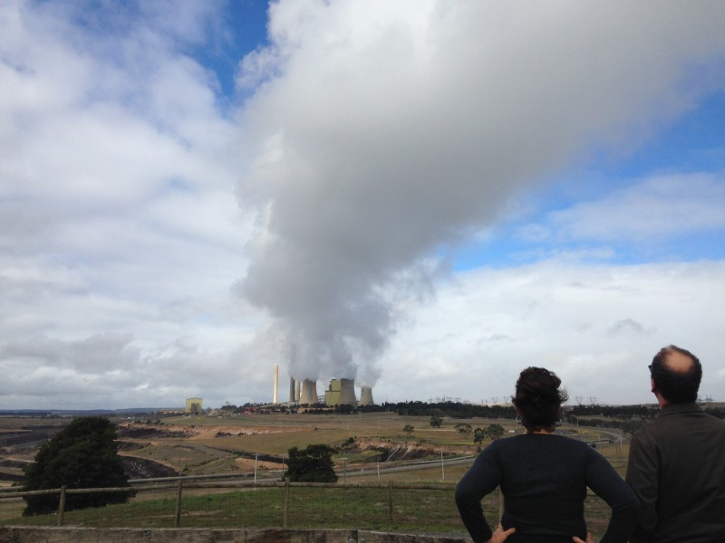 Coal-fired power station in Victoria's Latrobe Valley